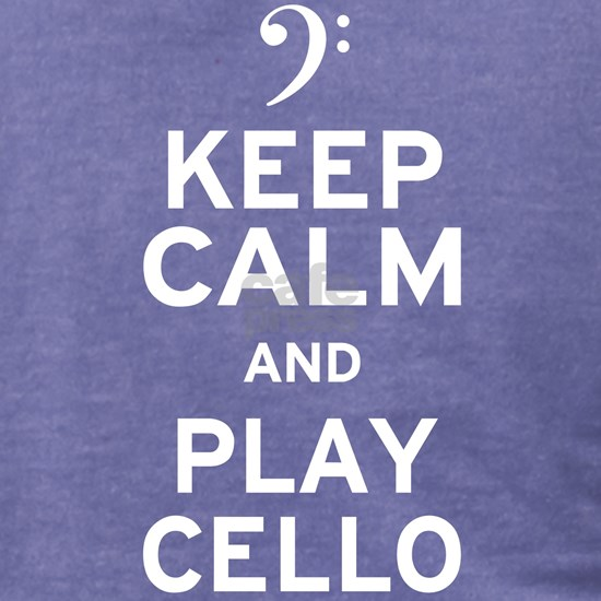 Keep Calm Cello