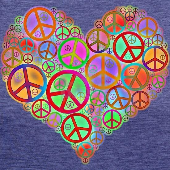 Peace Sign Heart