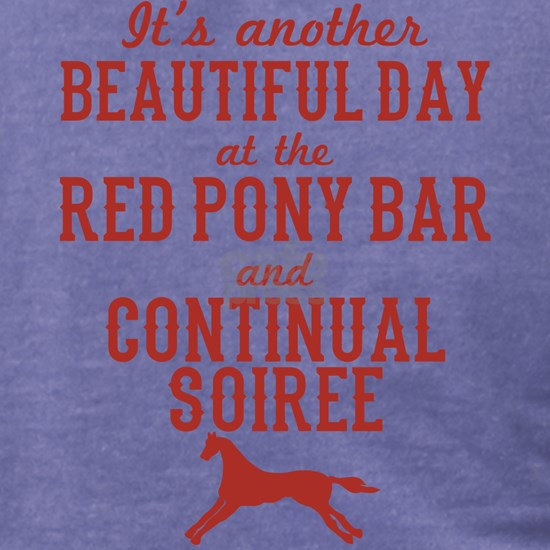 Longmire Red Pony Continual Soiree