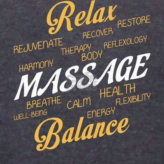 Relax T Shirt, Massage T Shirt