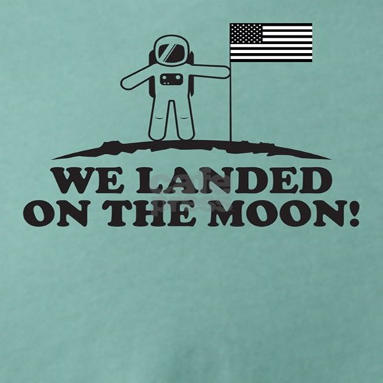 We landed on the moon!