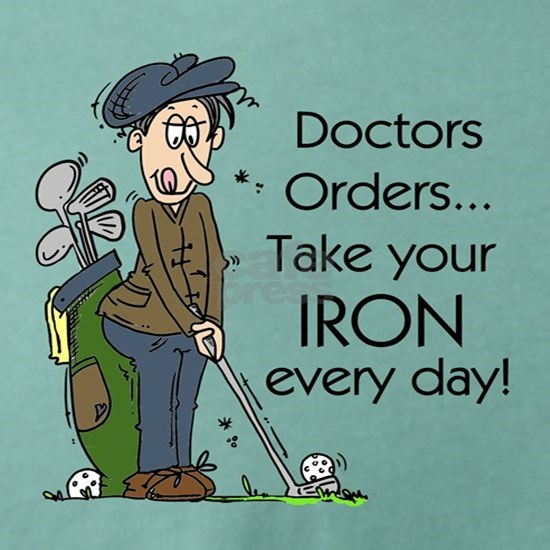 Golf Iron Every Day