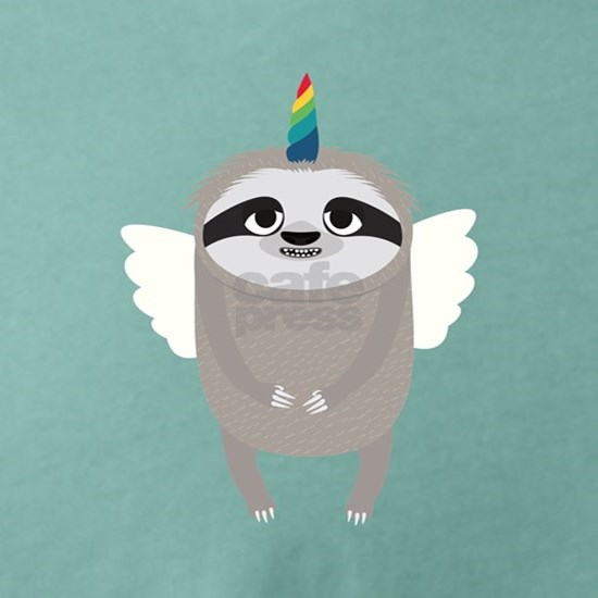 Unicorn Rainbow Sloth