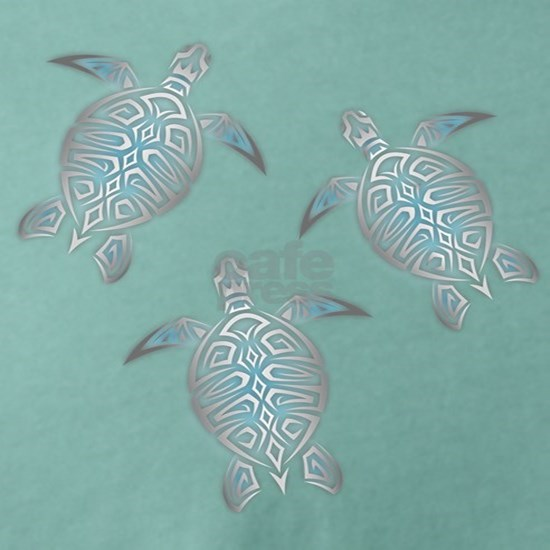 Silver Sea Turtles