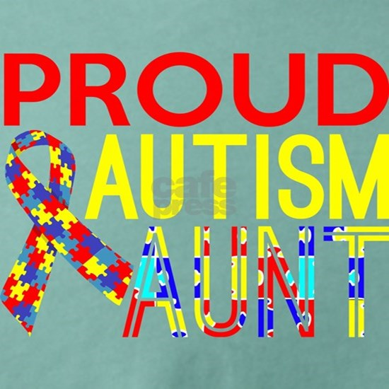 Proud Autism Aunt Awareness