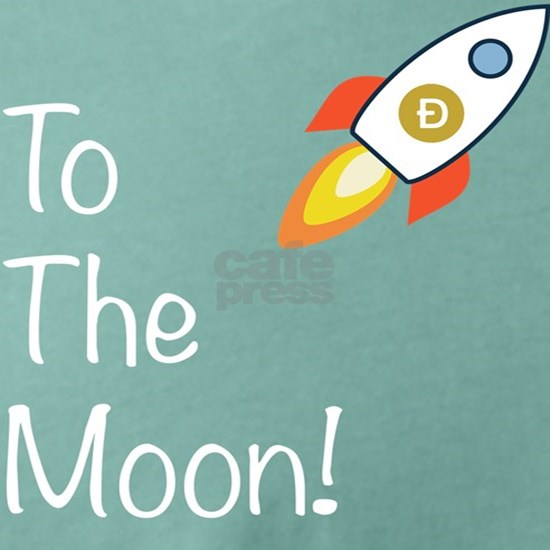 Dogecoin - To The Moon! Mens Comfort Colors® Shirt Mens ...
