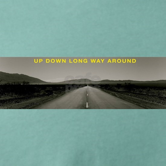 UP DOWN :DEATH VALLEY PHOTO WITH WORDS