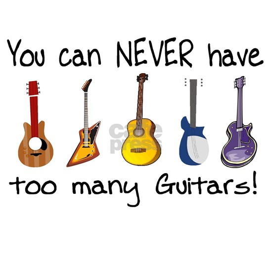 Too many guitars