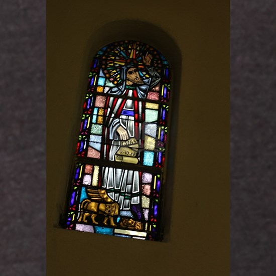 church stained glass window in San Jose