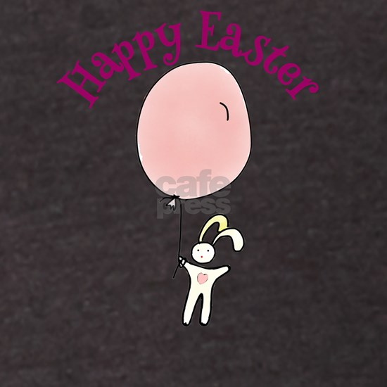 Happy Easter Bunny with Balloon