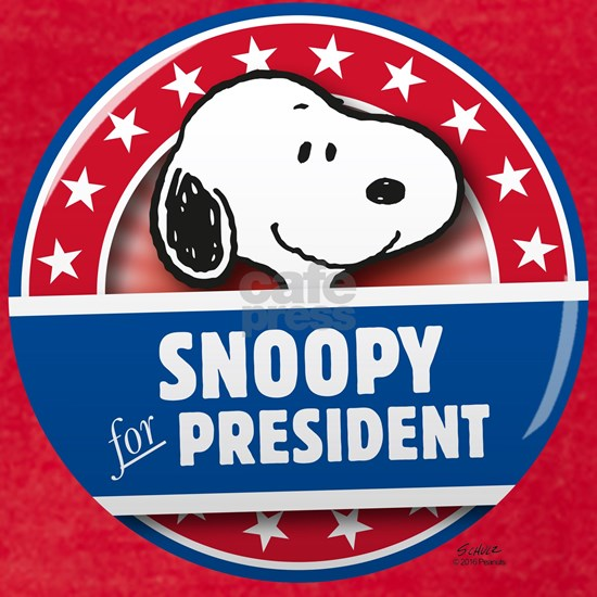 Peanuts Snoopy for President