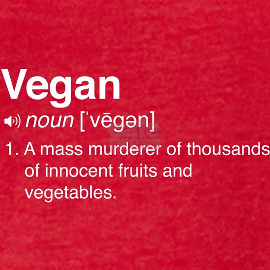 Funny vegan definition