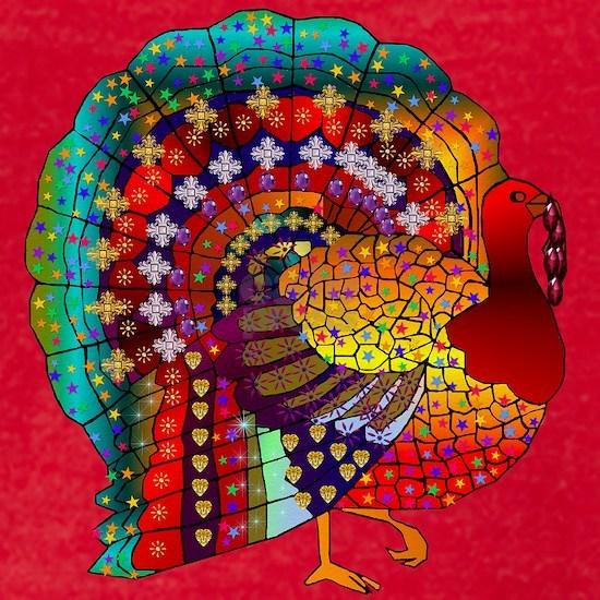 Thanksgiving Jeweled Turkey