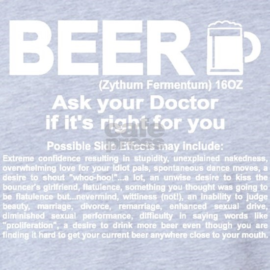 Funny Beer, Ask your Doctor if it's right for you