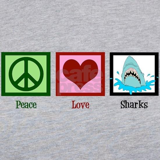 Peace Love Sharks