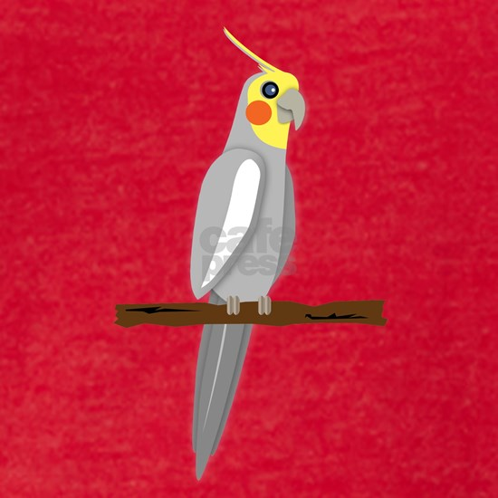 cartoon cockatiel male