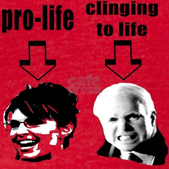 pro life clinging to life