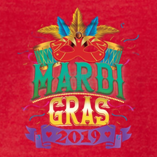 Mardi Gras New Orleans 2019 Apparel Party Gift