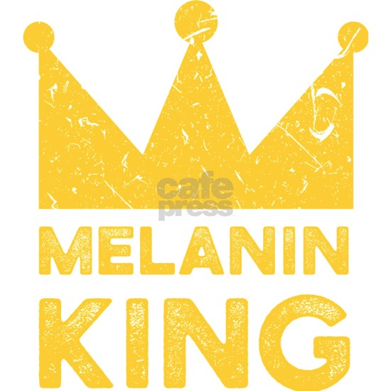 African Design Melanin King Birthday Gift