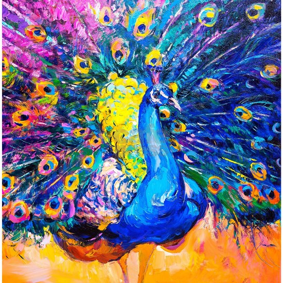 Peacock Painting