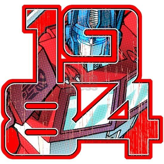 Transformers Optimus Prime 1984
