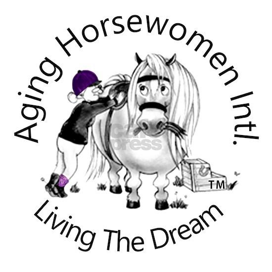 Aging Horsewomen Intl. Logo