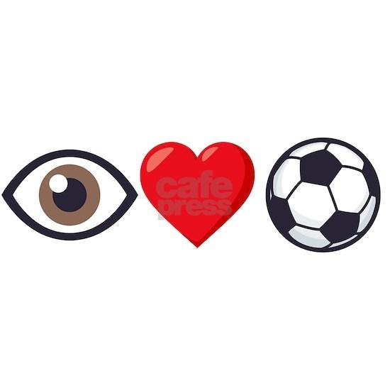 I Heart Soccer Emoji