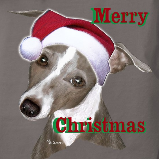Merry Christmas greyhound