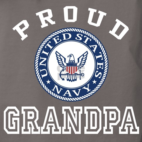 Proud US Navy Grandpa