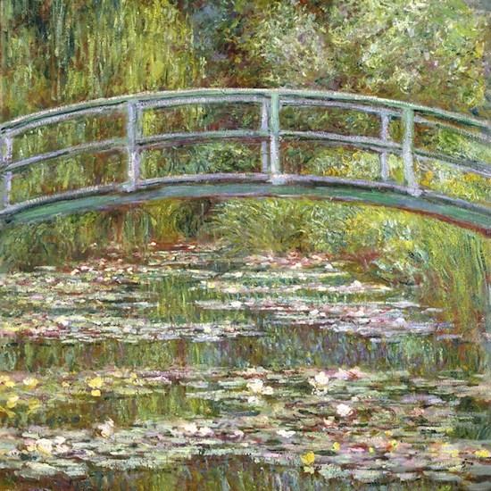 Monet Bridge over Water Lilies