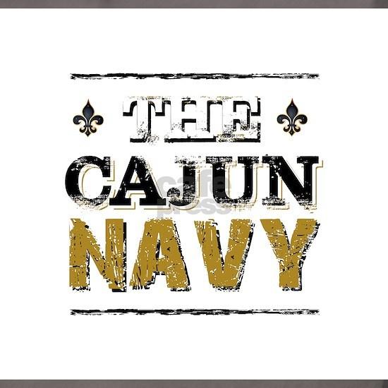 the Cajun Navy blck and gold