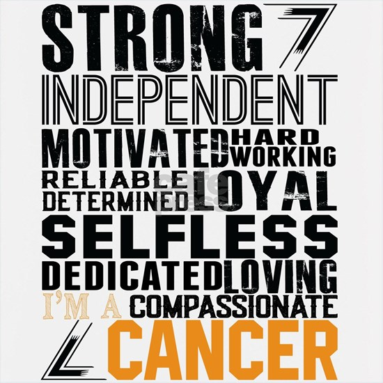 Strong Independent Motivated Cancer