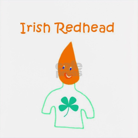 Irish Redhead Cute Carrot Head 4Kevin
