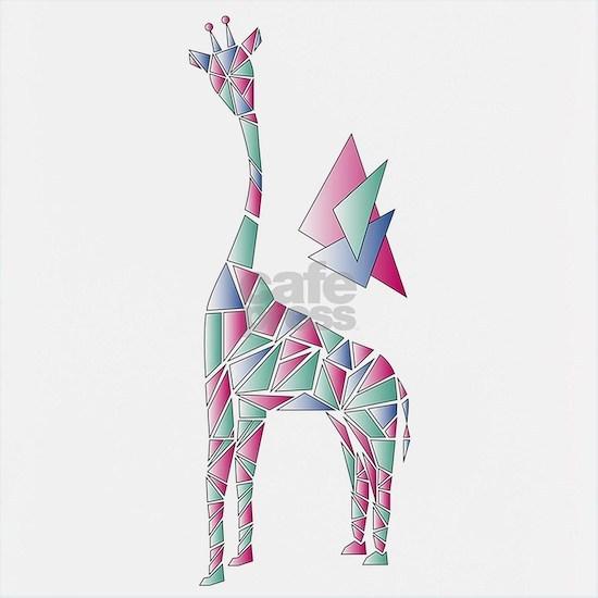 abstract giraffe