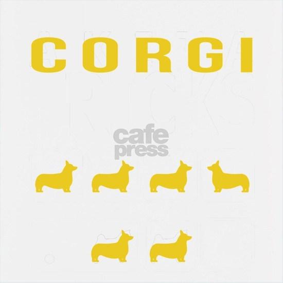 Corgi Stubborn Tricks