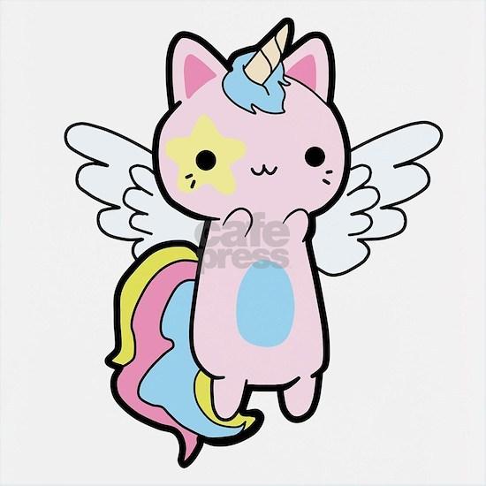 Cat Unicorn Fly Kawaii