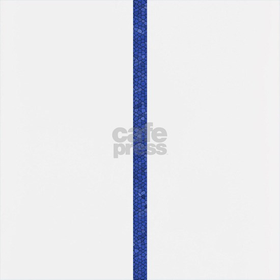 Blue Peace Sign Mosaic