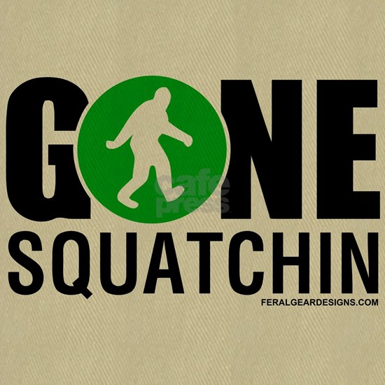 Gone Squatchin Black/Green Logo