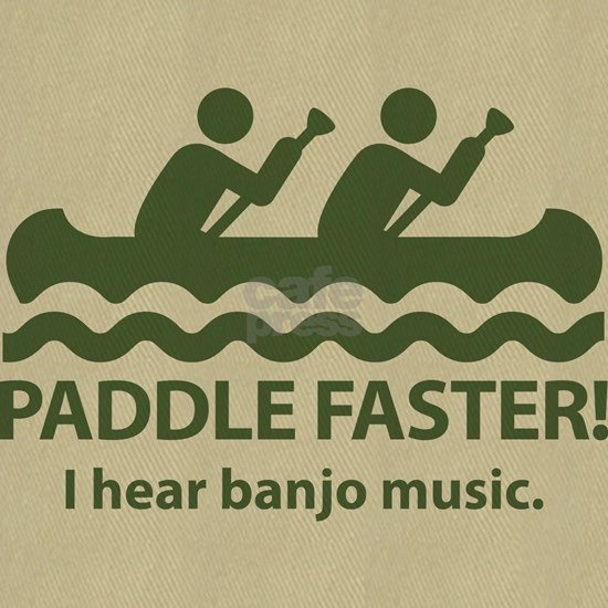 PaddleFasterIHearBanjoMusic-Green