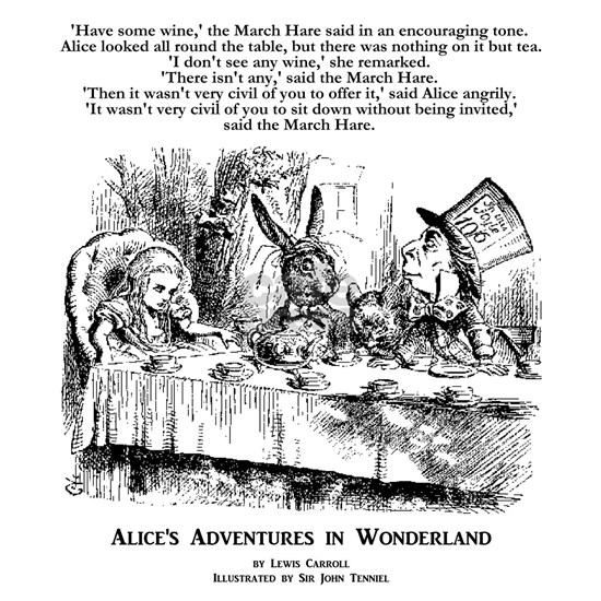Mad Tea Party: Alice's Adventures in Wonderland