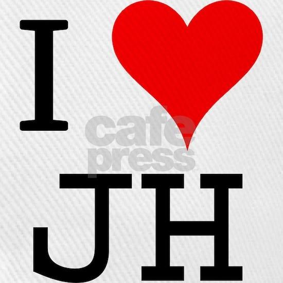 I Love Jh Cap By Paul Cafepress