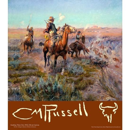 Charles M Russell Cowboys