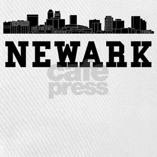 Newark NJ Skyline Baseball Cap