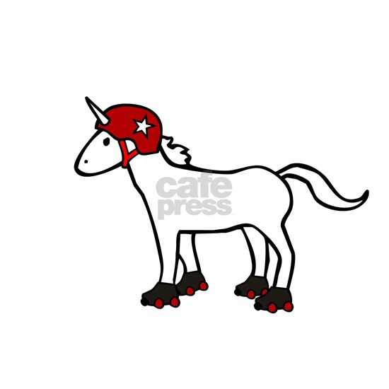 Roller Derby Unicorn