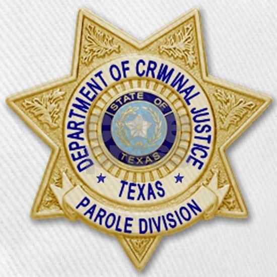 TDCJ Parole Badge Cap