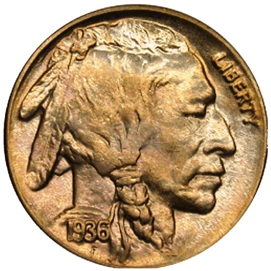 Buffalo Nickel Indian Head proof-2-Xbg