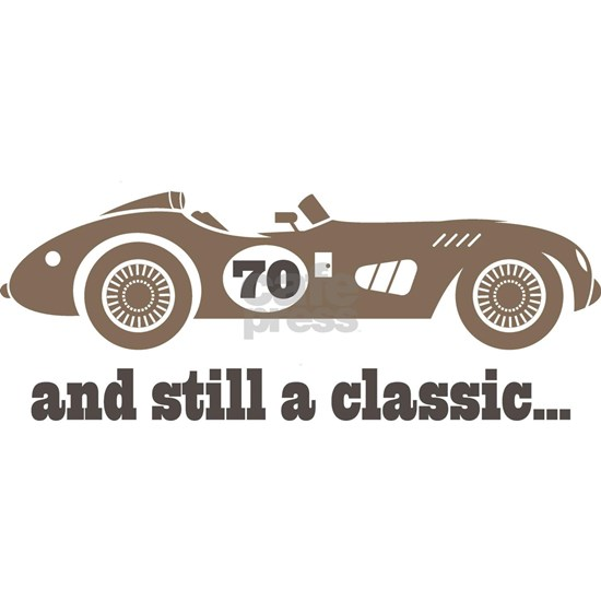 70th Birthday Classic Car