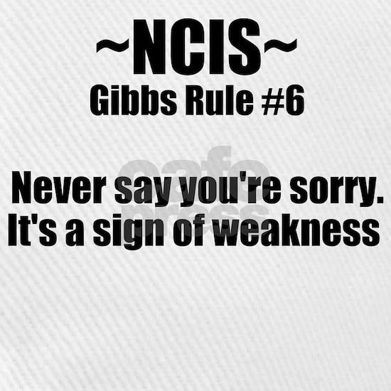 NCIS TV Gibbs Rule #6
