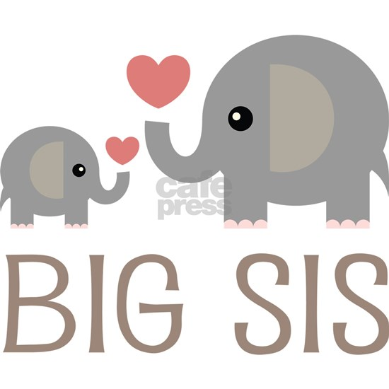 Big Sis Matching Elephant