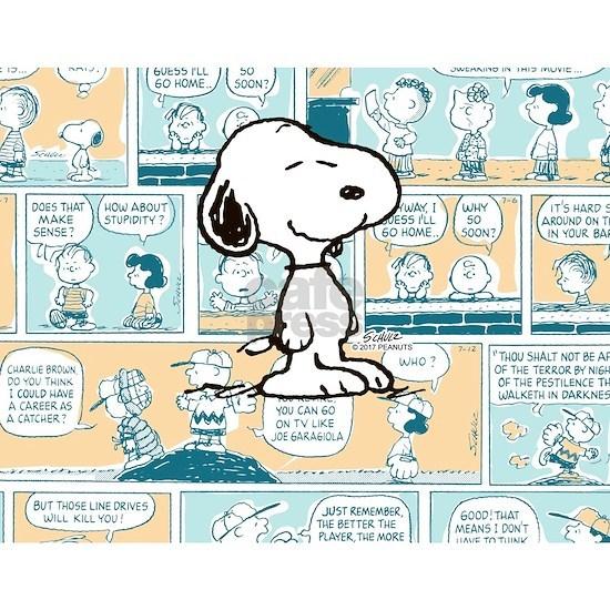 Peanuts Snoopy Comic Strip
